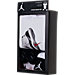 Back view of Infant Jordan AJ11 Sole 3-Piece Set in White/Black