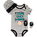 Front view of Infant Nike Future Gold Winner 3-Piece Set in 042