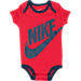 Alternate view of Infant Nike Futura 3-Piece Set in Gym Red/Obsidian