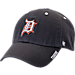 Front view of '47 Detroit Tigers MLB Ice Clean-Up Adjustable Hat in Grey