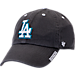 Front view of '47 Los Angeles Dodgers MLB Ice Clean-Up Adjustable Hat in Grey
