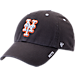 Front view of '47 New York Mets MLB Ice Clean-Up Adjustable Hat in Grey