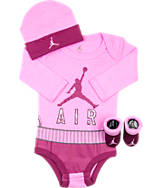 Infant Jordan Jumpman Crewneck 3-Piece Set