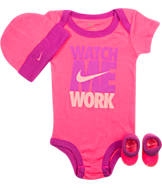 Infant Nike Watch Me Work 3-Piece Set