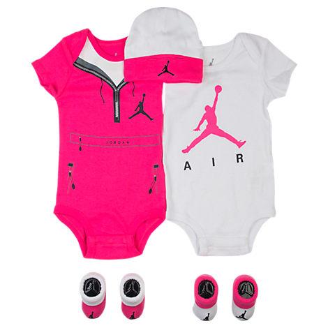 Girls' Infant Jordan Sweatsuit 5-Piece Set