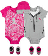 Girls' Infant Jordan Elephant Jumpsuit 5-Piece Set