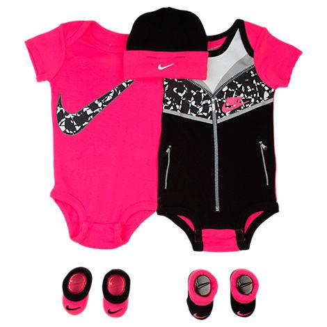 Girls' Infant Nike Patterned 5-Piece Set