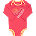 Alternate view of Girls' Infant Nike Neon Heart Long-Sleeve 3-Piece Set in Ember Glow/Peach