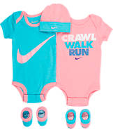 Infant Nike Crawl Walk Run 5-Piece Set