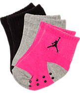 Infant Jordan Jump Cuff 3-Pack Gripper Socks