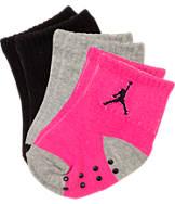 Infant Jordan Jump Cuff 3-Pack Gripper Socks