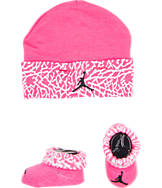 Infant Jordan Hat and Booties Set