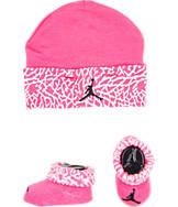 Infant Jordan Hat and Booties Set