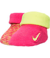 Infant Nike Marled Knit Booties