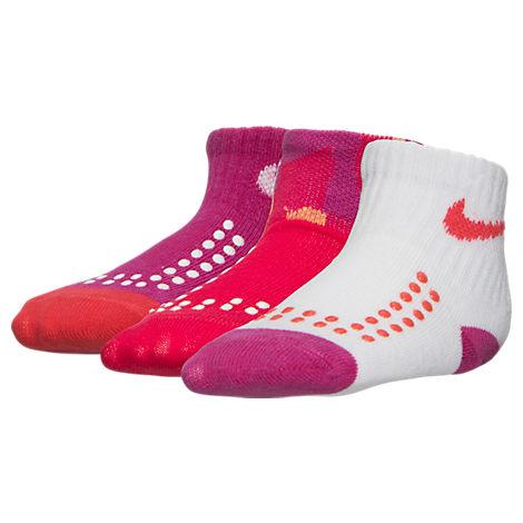 Infant Nike Quarry 3-Pack Gripper Socks