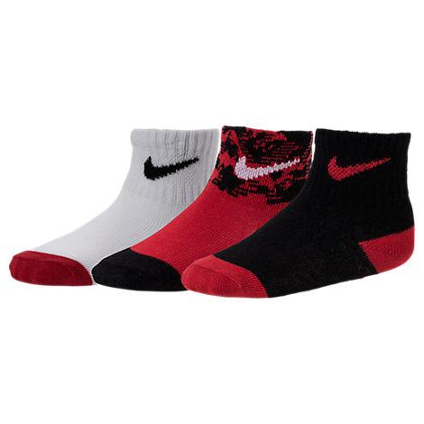 Infant Nike 3-Pack Gripper Socks