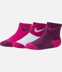 Infant Nike 3-Pack Dot Gripper Socks Product Image