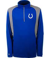 Men's Antigua Indianapolis Colts NFL Delta Quarter Zip Shirt