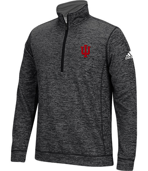 Men's adidas Indiana Hoosiers College Climawarm Team Issue Quarter-Zip Pullover