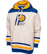 Men's Majestic Indiana Pacers NBA Double Technical Hoodie