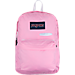 Front view of JanSport Digibreak Backpack in Prism Pink