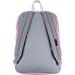 Back view of JanSport Digibreak Backpack in Prism Pink