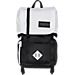 Front view of JanSport Hatchet Backpack in White/Black