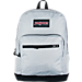 Front view of JanSport Right Pack Digital Edition Backpack in Grey Heather