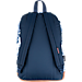 Back view of JanSport Right Pack Expressions Backpack in White Artist Rose