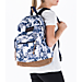 Alternate view of JanSport Right Pack Expressions Backpack in White Artist Rose