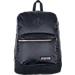 Front view of JanSport Super FX Backpack in Black/Gold