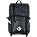 Front view of JanSport Hatchet Special Edition Backpack in Black Dot Matrix