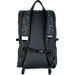 Back view of JanSport Hatchet Special Edition Backpack in Black Dot Matrix
