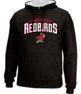 Men's J. America Illinois State Redbirds College Cotton Pullover Hoodie