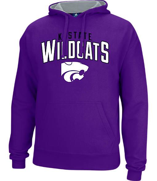 Men's J. America Kansas State Wildcats College Cotton Pullover Hoodie