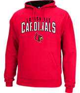 Men's J. America Louisville Cardinals College Cotton Pullover Hoodie