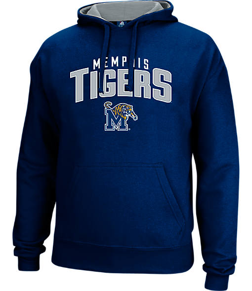 Men's J. America Memphis Tigers College Cotton Pullover Hoodie