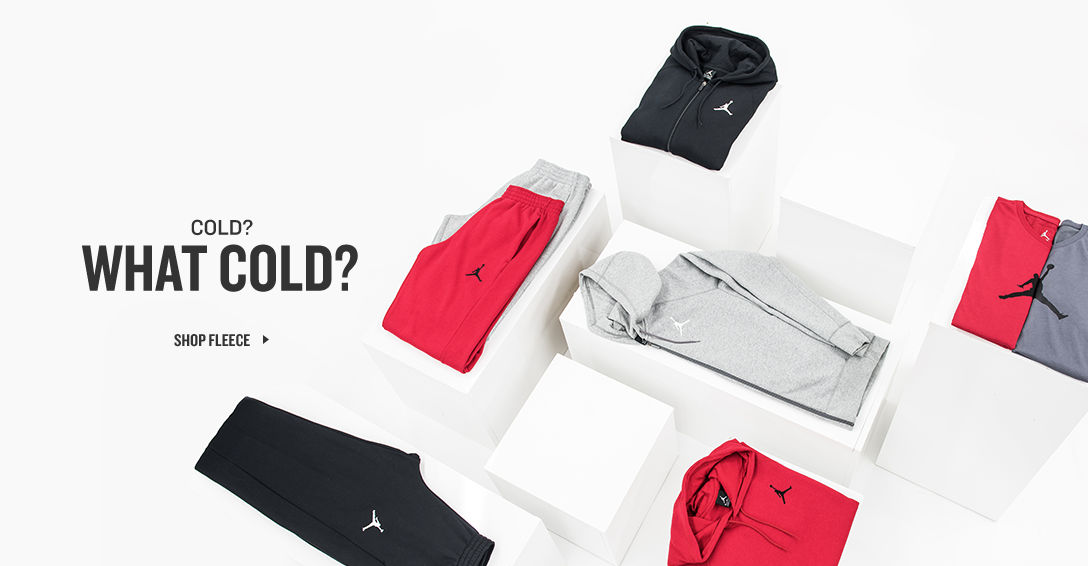 Cold? What Cold? Shop Fleece.