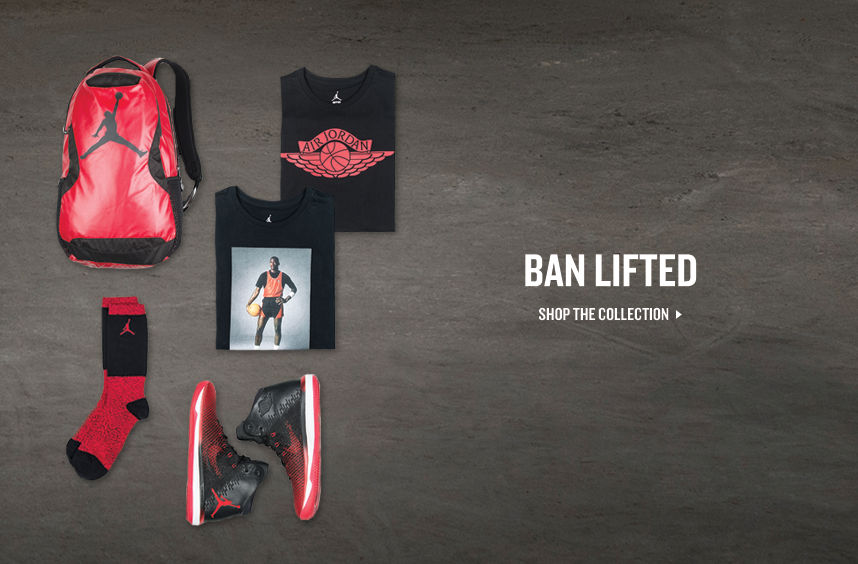 Jordan Bred. Shop Now.