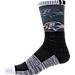 For Bare Feet Baltimore Ravens NFL Blackout Socks Product Image