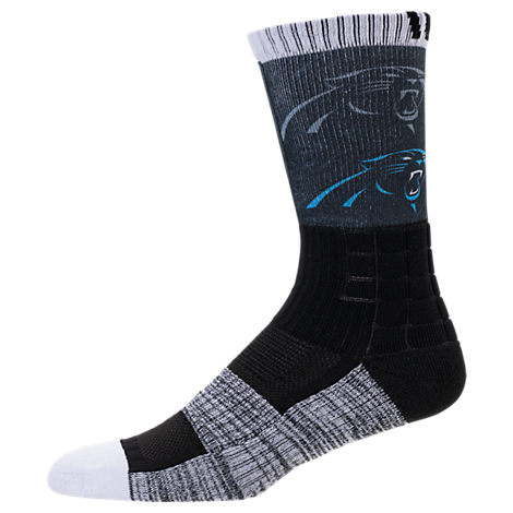 For Bare Feet Carolina Panthers NFL Blackout Socks