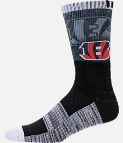 For Bare Feet Cincinnati Bengals NFL Blackout Socks Product Image