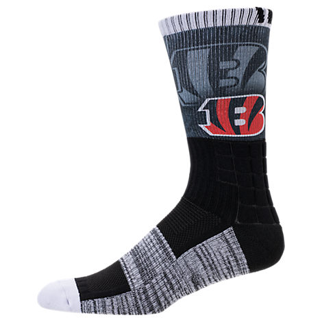 For Bare Feet Cincinnati Bengals NFL Blackout Socks