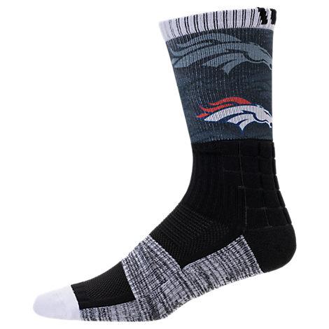 For Bare Feet Denver Broncos NFL Blackout Socks