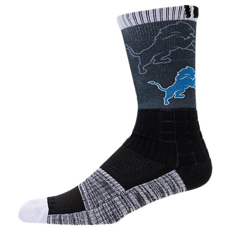 For Bare Feet Detroit Lions NFL Blackout Socks