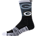 For Bare Feet Green Bay Packers NFL Blackout Socks Product Image