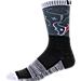 For Bare Feet Houston Texans NFL Blackout Socks Product Image