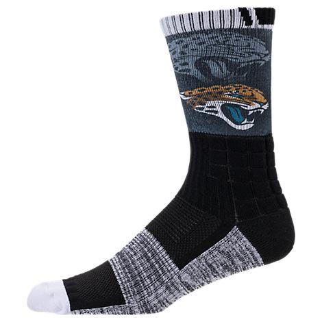 For Bare Feet Jacksonville Jaguars NFL Blackout Socks
