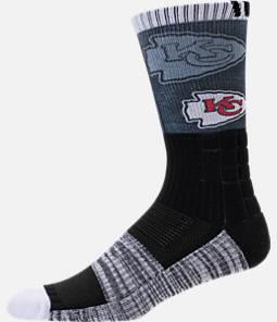 For Bare Feet Kansas City Chiefs NFL Blackout Socks Product Image
