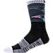 For Bare Feet New England Patriots NFL Blackout Socks Product Image